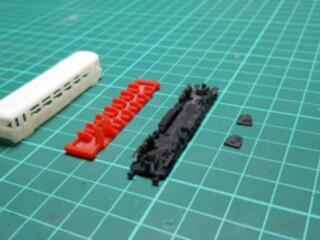 3D stavebnice vozu BR-810.velikost - Z