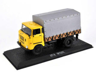 Atlas IFA W50 L yellow 1:43