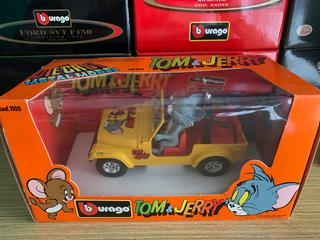 Bburago Jeep Tom & Jerry - RARITA - TOP STAV