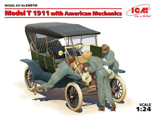 Ford T 1911 ICM 1/24