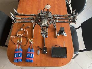 Hexacopter Tarot FY680 + DJI Wookong