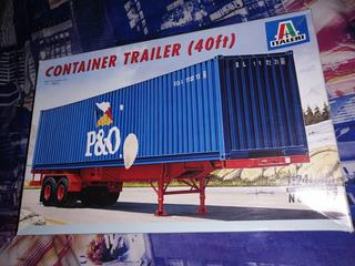 ITALERI - CONTAINER TRAILER (40ft)