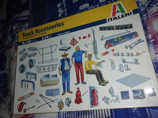 ITALERI - TRUCK ACCESSORIES for Eu and U.S. trucks