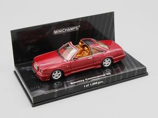 Minichamps Bentley Continental SC red met. 1:43