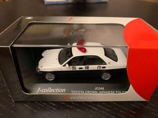 Model J-Collection / Kyosho Toyota Crown Police
