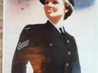 Plakat Royal air force WAAF