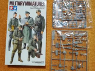 Prodám 1/35 German field commander set