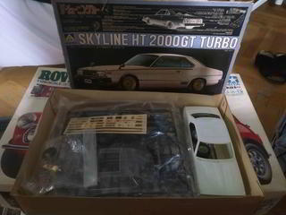 Skyline HT 2000 GT Turbo aoshima 1/24