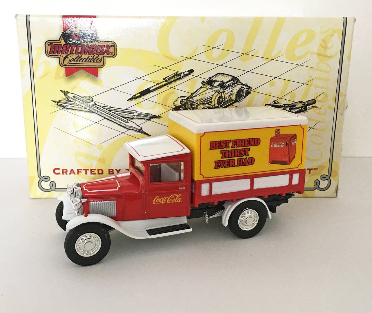 MATCHBOX YESTERYEAR YYM 96507 FORD AA COCA-COLA